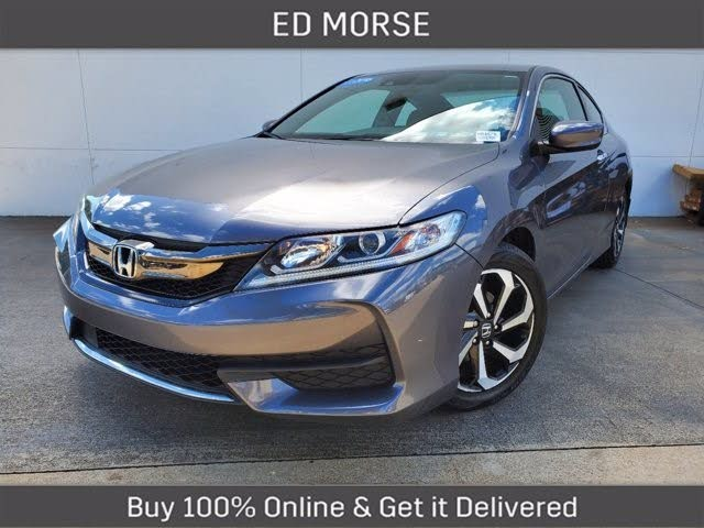 2016 Honda Accord Coupe LX-S with Honda Sensing