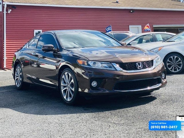 2014 Honda Accord Coupe EX-L V6 with Nav