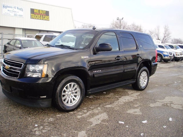 Used 2013 Chevrolet Tahoe Hybrid 4wd For Sale With Photos Cargurus