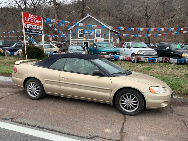 2001 Chrysler Sebring Limited Convertible FWD