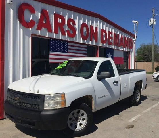 2012 Chevrolet Silverado 1500 Work Truck LB RWD