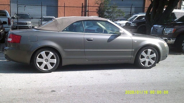 used 2006 audi a4 3 0 quattro cabriolet awd for sale right now cargurus 3 0 quattro cabriolet awd