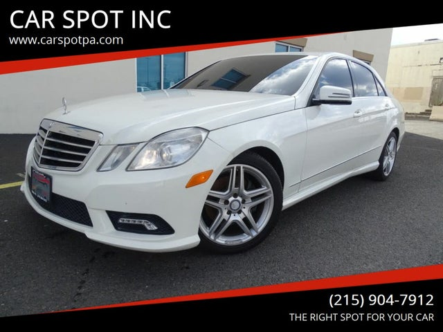 2011 Mercedes-Benz E-Class E 350 Luxury 4MATIC