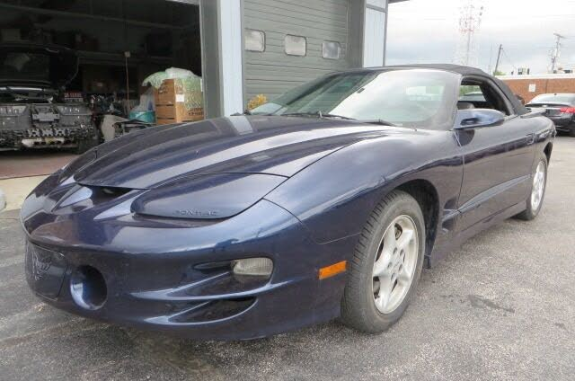 1998 Pontiac Firebird Trans Am Convertible