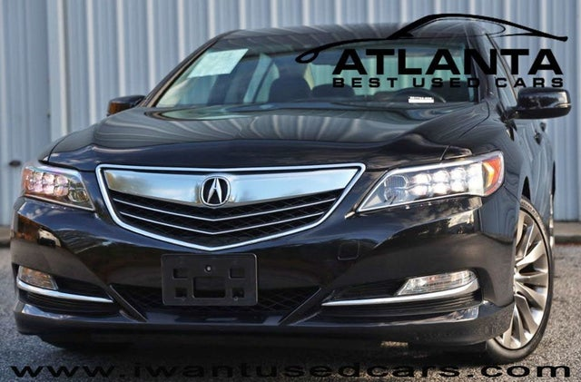 2016 Acura RLX FWD with Technology Package