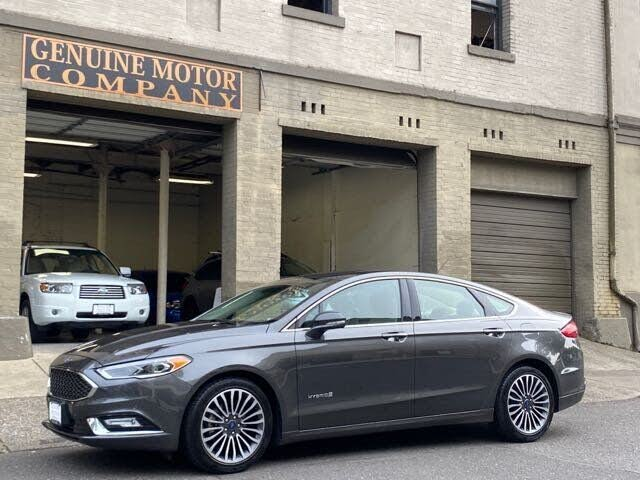 Used 2018 Ford Fusion Hybrid Platinum Fwd For Sale With Photos
