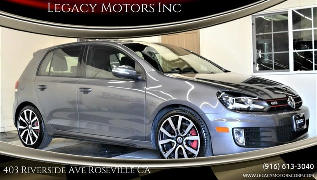 2012 Volkswagen GTI 2.0T 4-Door FWD with Sunroof and Navigation