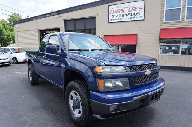 2010 Chevrolet Colorado Work Truck Extended Cab 4WD