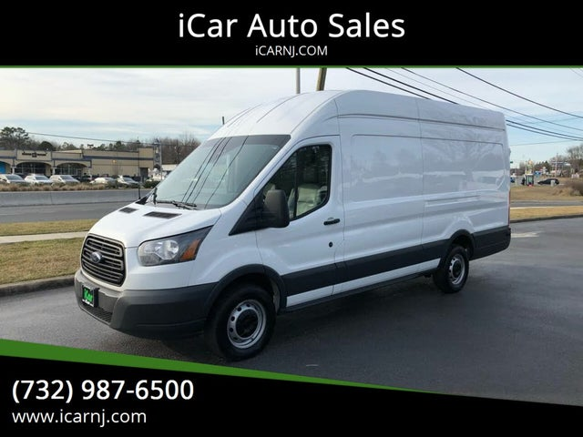 2018 Ford Transit Cargo 250 3dr LWB High Roof Extended Cargo Van with Sliding Passenger Side Door