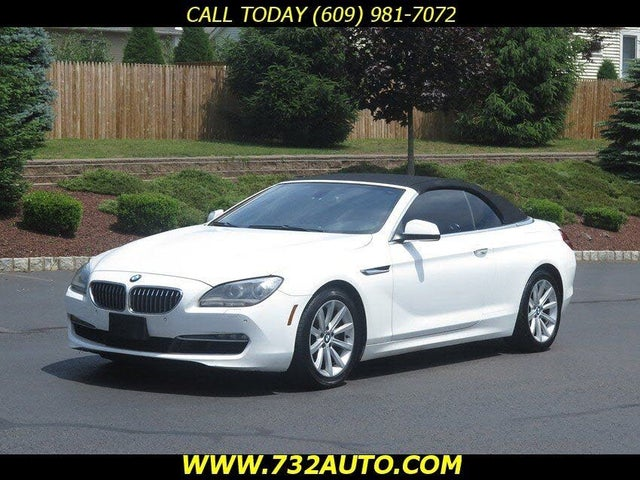 2014 BMW 6 Series 640i Convertible RWD