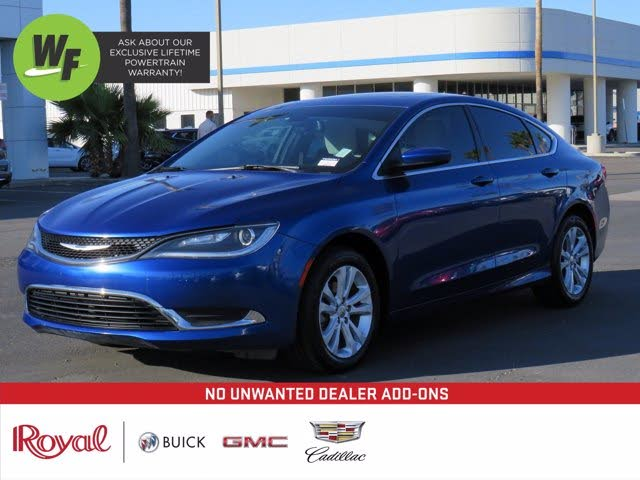 2015 Chrysler 200 Limited Sedan FWD