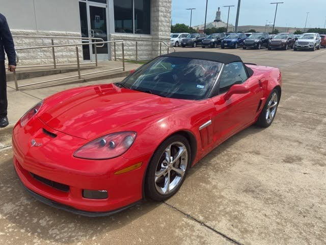 2012 Chevrolet Corvette Z16 Grand Sport 3LT Convertible RWD