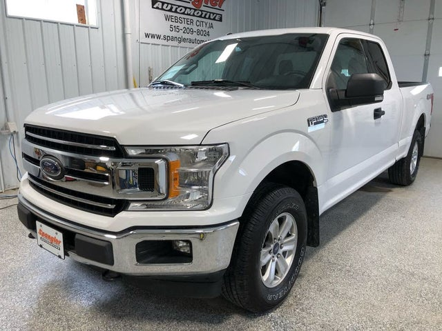 2018 Ford F-150 XLT SuperCab 4WD