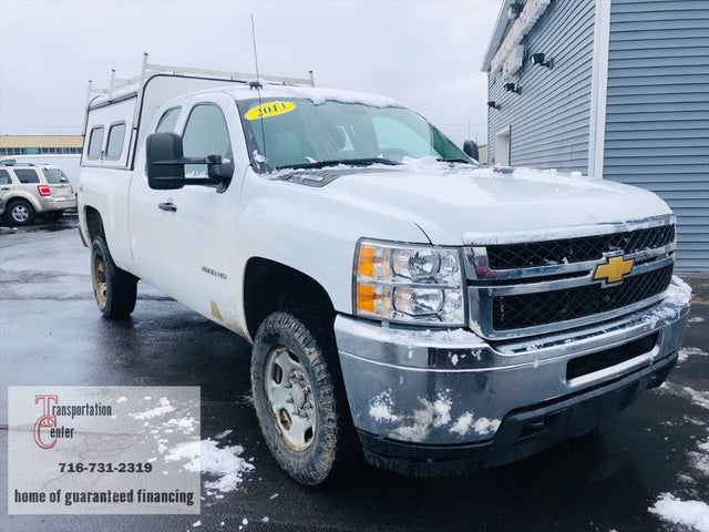 2013 Chevrolet Silverado 2500HD Work Truck Extended Cab 4WD