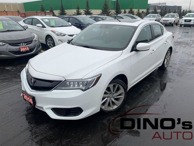 2016 Acura ILX FWD with AcuraWatch Plus Package