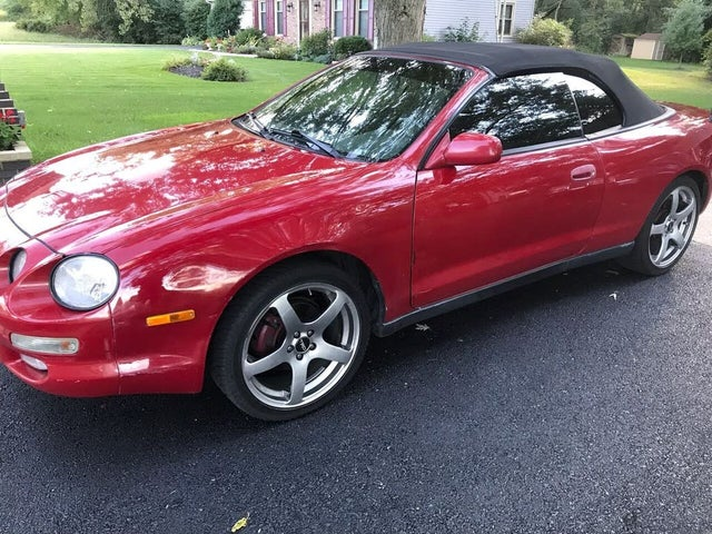 1997 Toyota Celica GT Limited Edition Convertible