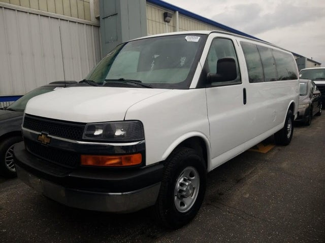 2015 Chevrolet Express Cargo 3500 Extended RWD with Paratransit
