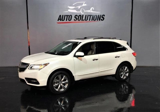 2014 Acura MDX FWD with Advance and Entertainment Package