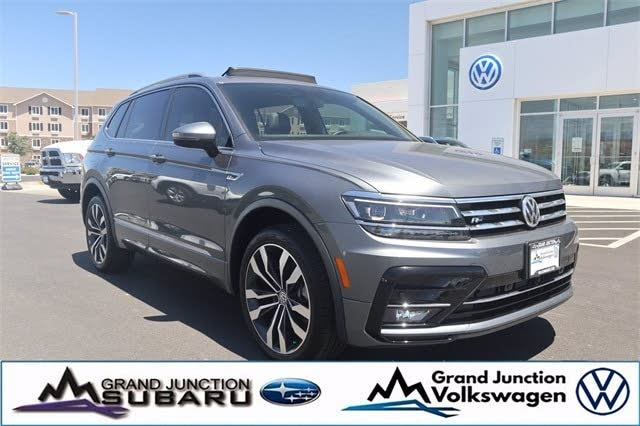 Used 2020 Volkswagen Tiguan Sel Premium R Line 4motion Awd For Sale With Photos Cargurus
