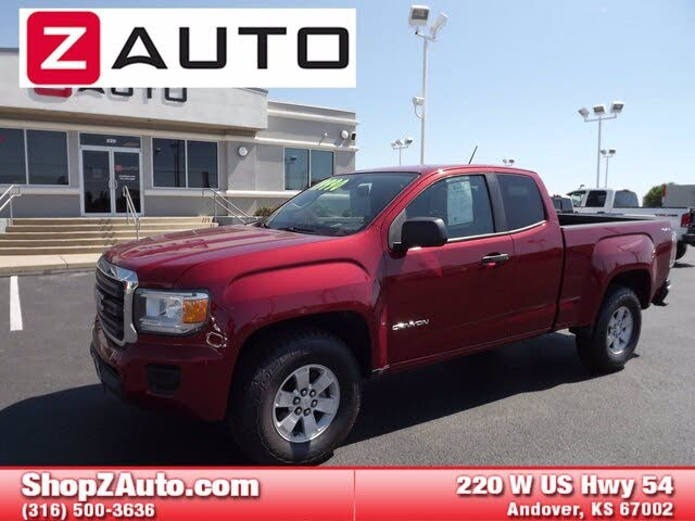 2016 GMC Canyon SLT Ext. Cab LB 4WD