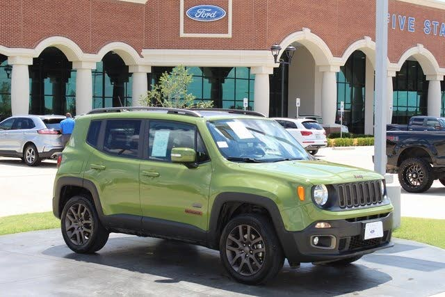 2016 Jeep Renegade Latitude 75th Anniversary 4WD