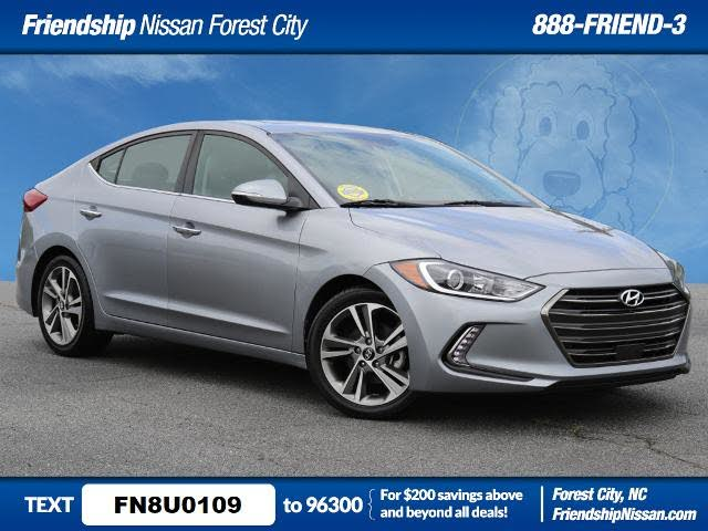 2017 Hyundai Elantra Limited Sedan FWD