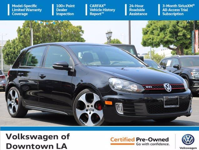 2013 Volkswagen GTI 2.0T 4-Door FWD