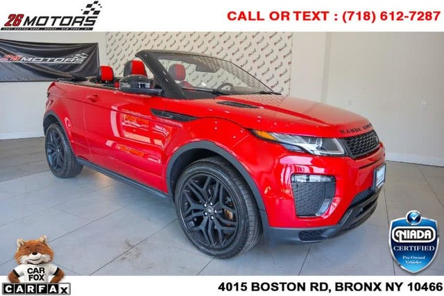 2017 Land Rover Range Rover Evoque HSE Dynamic Convertible