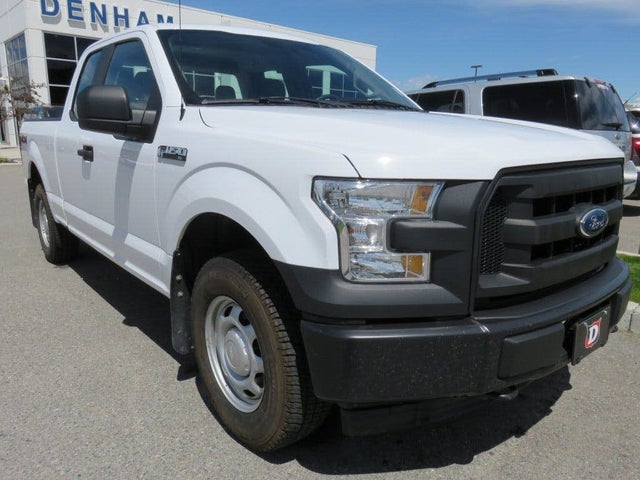 2017 Ford F-150 XL SuperCab 4WD