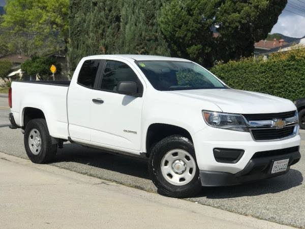 2016 Chevrolet Colorado Work Truck Extended Cab LB RWD