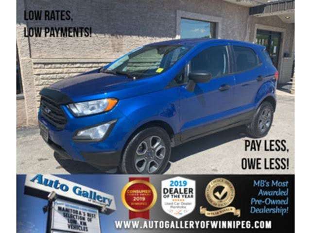 2018 Ford EcoSport S AWD