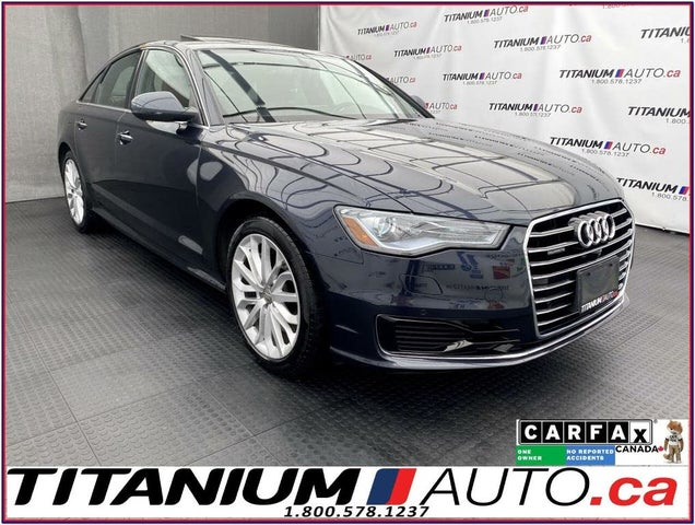 2016 Audi A6 2.0T quattro Technik Sedan AWD