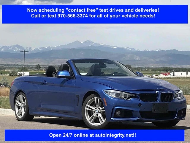 2015 BMW 4 Series 435i Convertible RWD