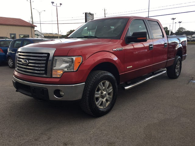 2012 Ford F-150 XLT SuperCrew 4WD