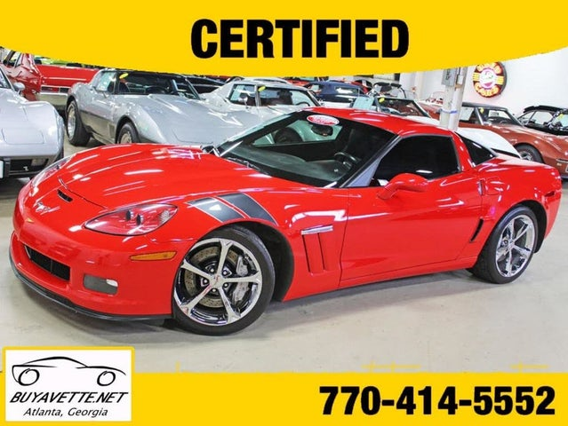 2011 Chevrolet Corvette Z16 Grand Sport 1LT Coupe RWD