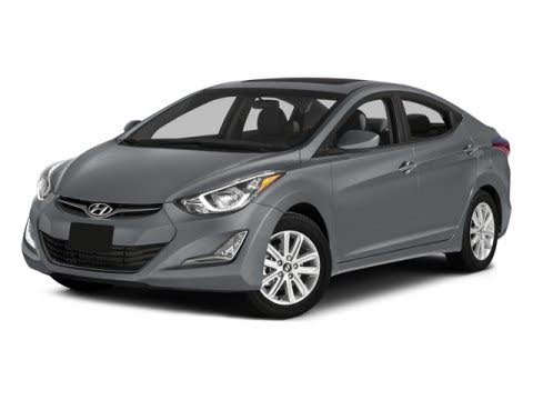 2015 Hyundai Elantra Limited Sedan FWD
