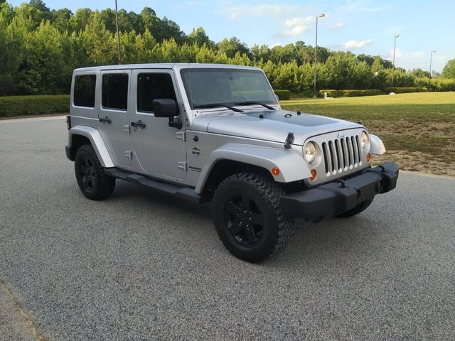 2012 Jeep Wrangler Unlimited Arctic 4WD