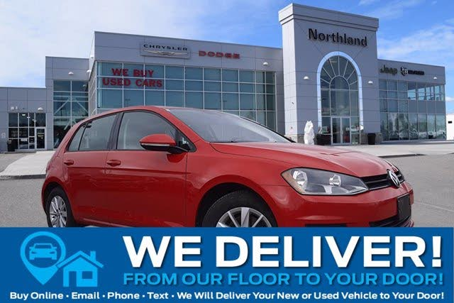 2015 Volkswagen Golf 1.8T S with Sunroof