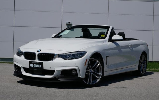 2018 BMW 4 Series 440i xDrive Convertible AWD