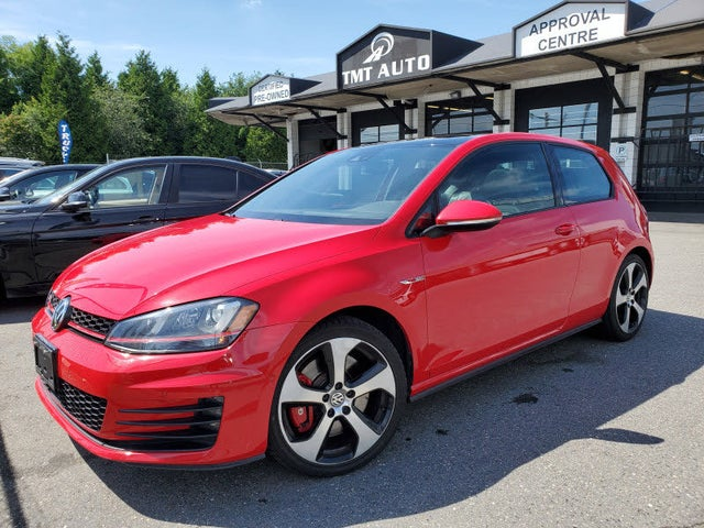2016 Volkswagen GTI 2.0T Performance 2-Door FWD