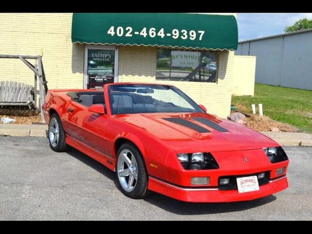 used 1990 chevrolet camaro for sale right now cargurus used 1990 chevrolet camaro for sale