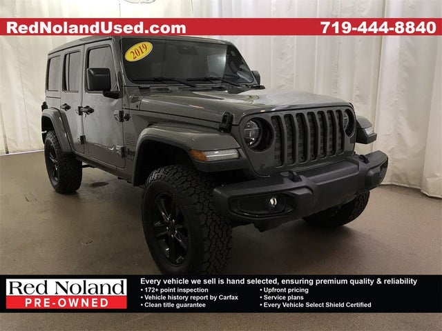 2019 Jeep Wrangler Unlimited Sahara Altitude 4WD