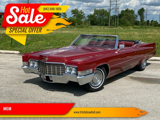 1969 Cadillac DeVille Coupe RWD