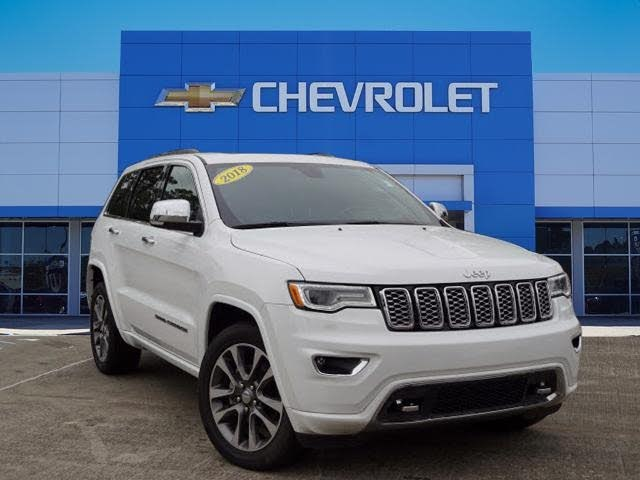 Used 2018 Jeep Grand Cherokee Overland For Sale With Photos