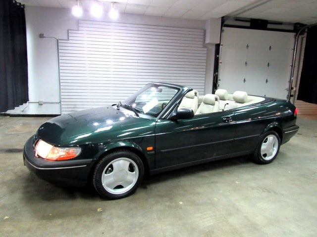 1996 Saab 900 2 Dr SE Turbo Convertible