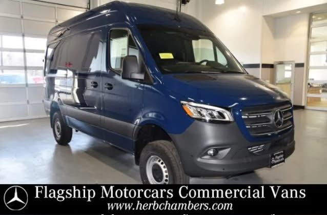 2019 Mercedes-Benz Sprinter 2500 144 V6 High Roof Crew Van 4WD