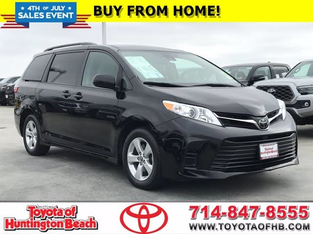 2018 Toyota Sienna LE 8-Passenger FWD