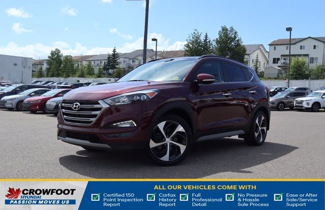 2018 Hyundai Tucson 1.6T Ultimate AWD