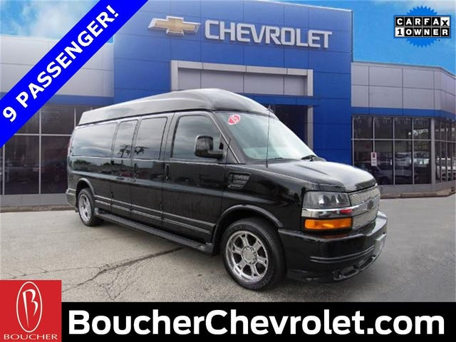 2015 Chevrolet Express Cargo 2500 Extended RWD with Upfitter