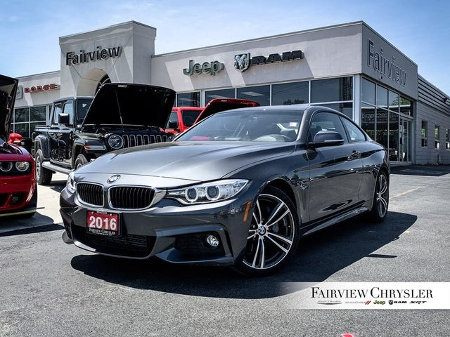 2016 BMW 4 Series 435i Coupe RWD